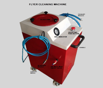 Flyer Cleaning Machine